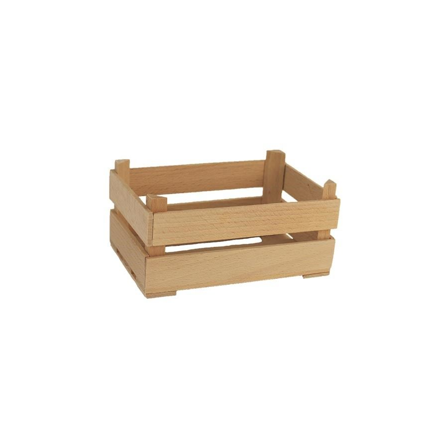 Dřevěná bedýnka - přírodní, 097016