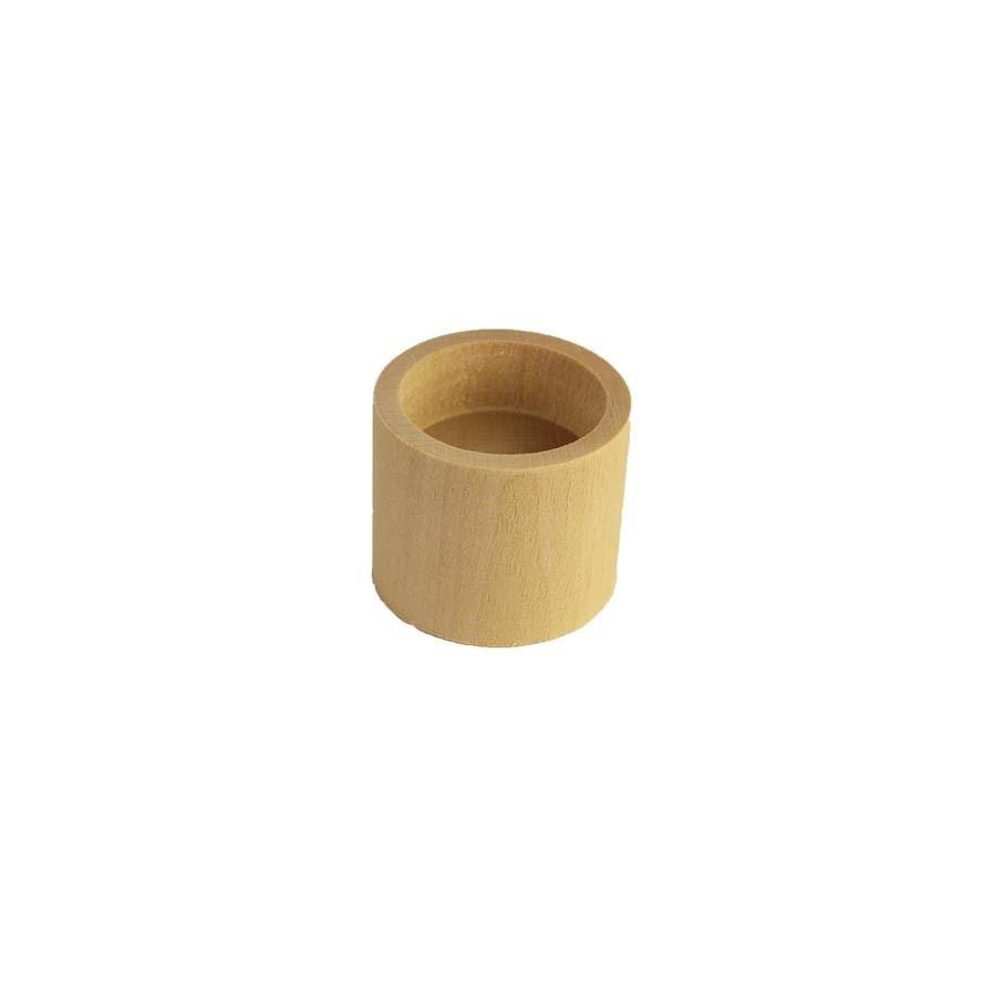 Dřevěný svícen - kulatý  097032