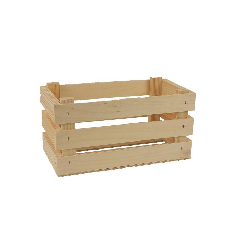 Dřevěná bedýnka 097080