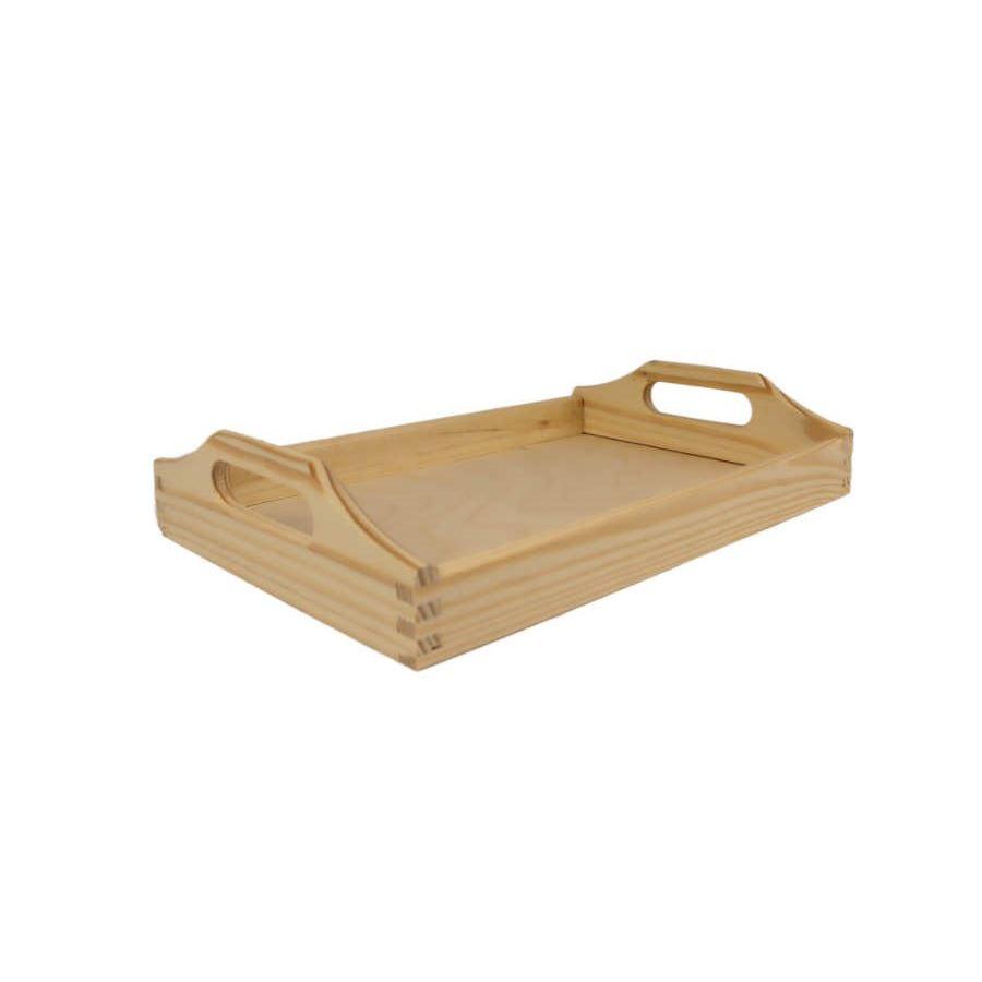 Dřevěný podnos malý, 097022