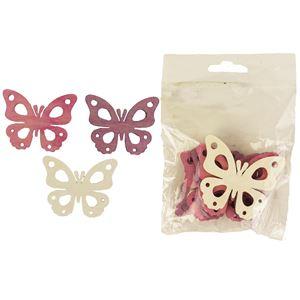 Motýl 6 ks D1517