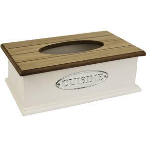 Dřevěný zásobník na ubrousky D0452