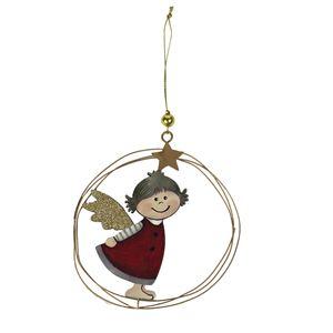 Vánoční dekorace k zavěšení D2313