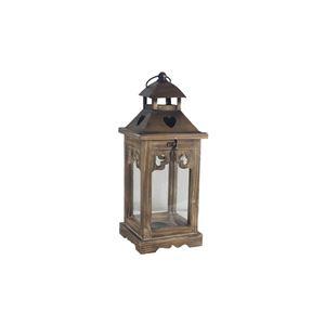 Dřevěná lucerna D3130/M