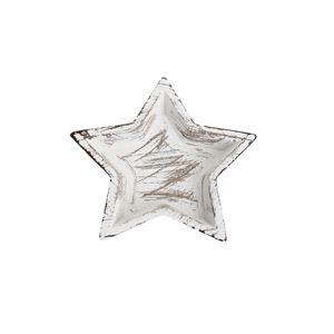 Dřevený podnos hvězda malý D3133/1