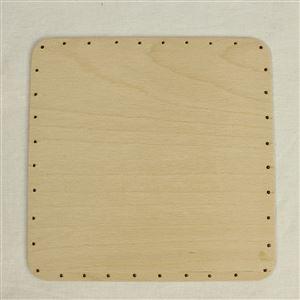 překližka tl.4 mm, čtverec 20x20 cm s otvory