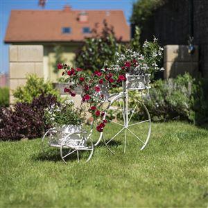 Dekorační kolo-květináč K1907