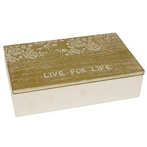 Dřevěný box D0273