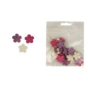 Dekorační květy 2cm, 24ks D1114