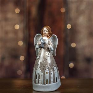 Anděl s LED osv. X2872
