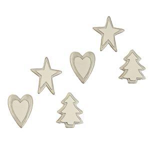 Vánoční dekorace, 6ks