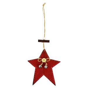 Hvězda červená D0823/C