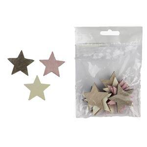 Dekorační hvězdy 12 ks D1670