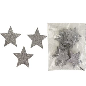Hvězdy dekorační, 12ks D1308/ST