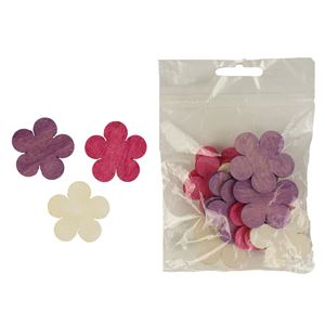 Dekorační květy 4cm, 12ks D1113