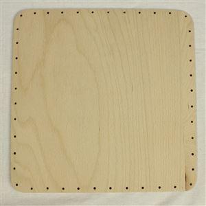 překližka tl.4 mm, čtverec 24x24 cm s otvory