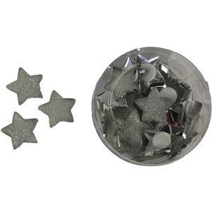 hvězdy nalep. velké sada 24ks, X0085