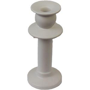 svícen porcelán bílý malý, X0103