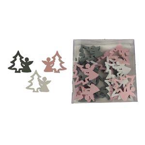 Vánoční dekorace, 18ks D2362