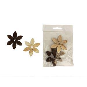 Dekorační kytky 6cm D0660, 6ks