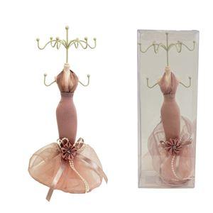 Stojánek na šperky růžový X1616
