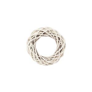 Věnec bílý pr.15cm P0741-01