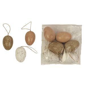 Vajíčka dekorační 6 ks X2427
