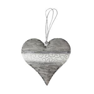 Kovové srdce k zavěšení K1636