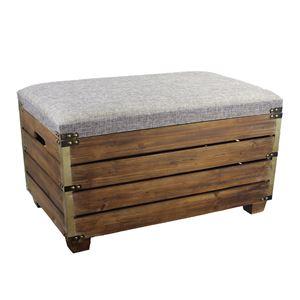 Taburet dřevěný velký D1004/V