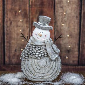 Sněhulák s LED osv. X2641