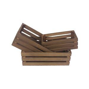 Bedýnka dřevěná D1876 S/3