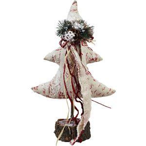 vánoční stromeček červený, X0038