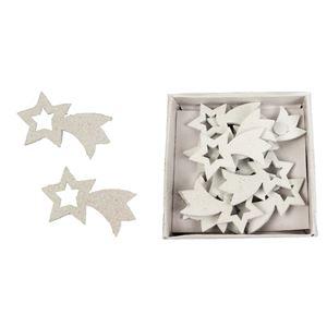 Dřevěné hvězdy, 12ks D1313