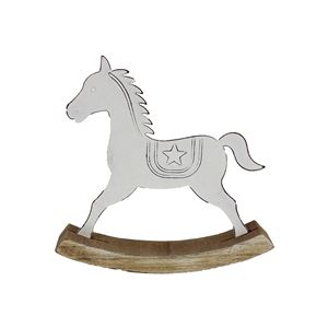 Kovový houpací koník K1559