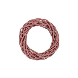 Věnec růžový 20 cm