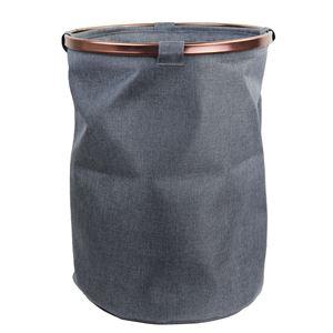 Koš textilní šedý X0598-21