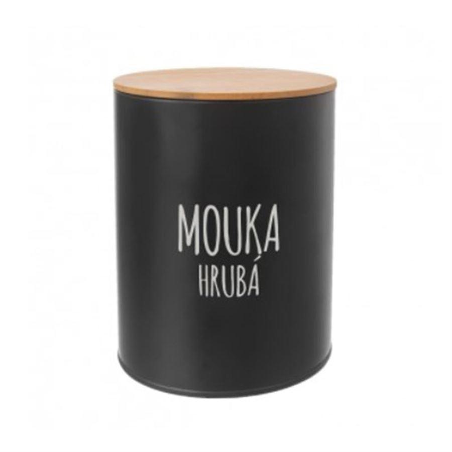 Dóza Mouka hrubá BLACK O0148