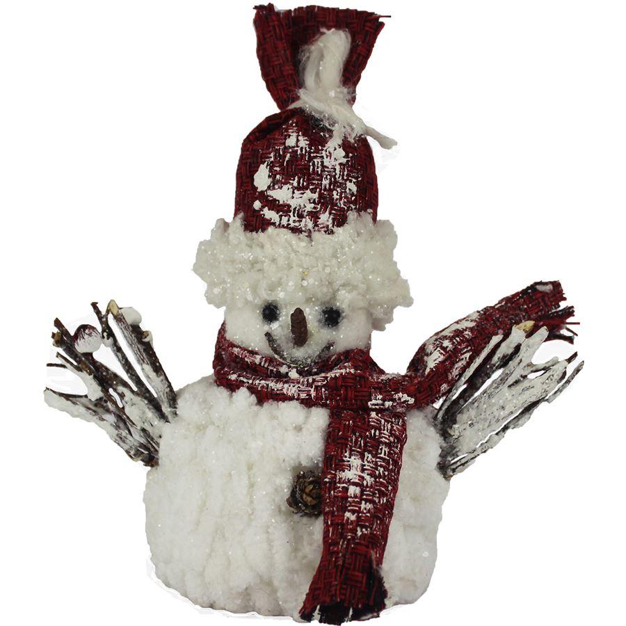 Dekorační sněhulák X0229