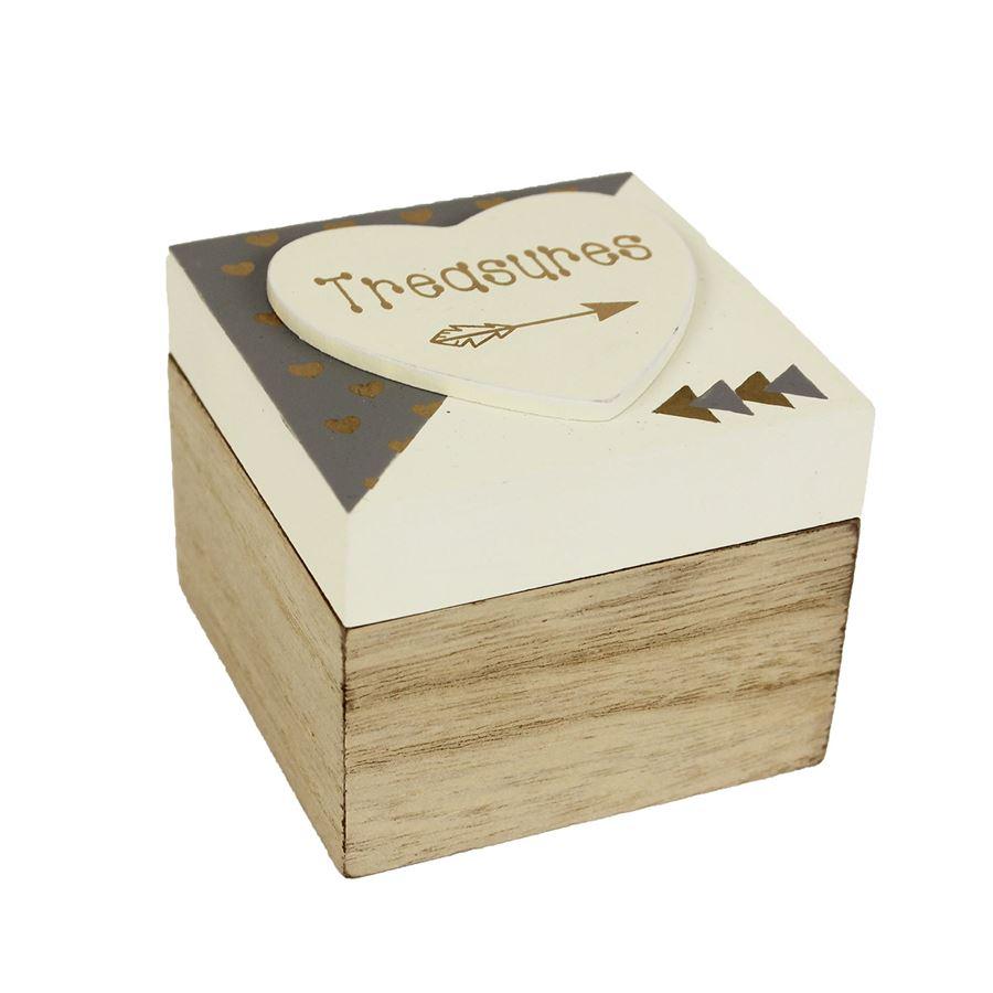 Dřevěná krabička  D1326