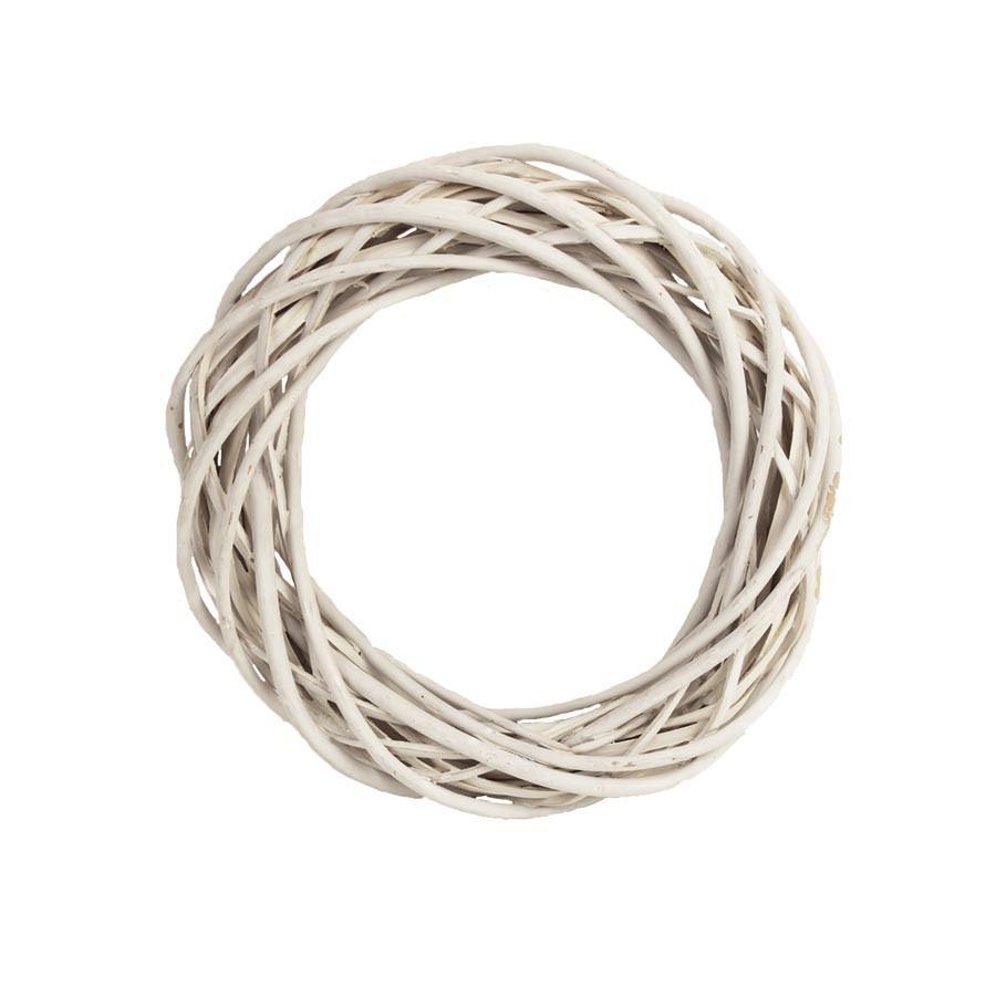 Věnec bílý pr. 20 cm P0406-01