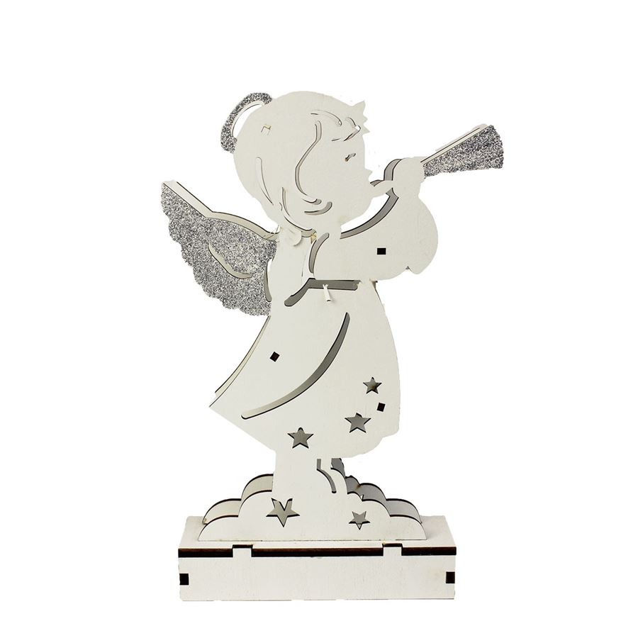 Anděl s LED osvětlením K2011