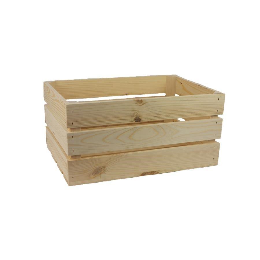 Dřevěná bedýnka 097083