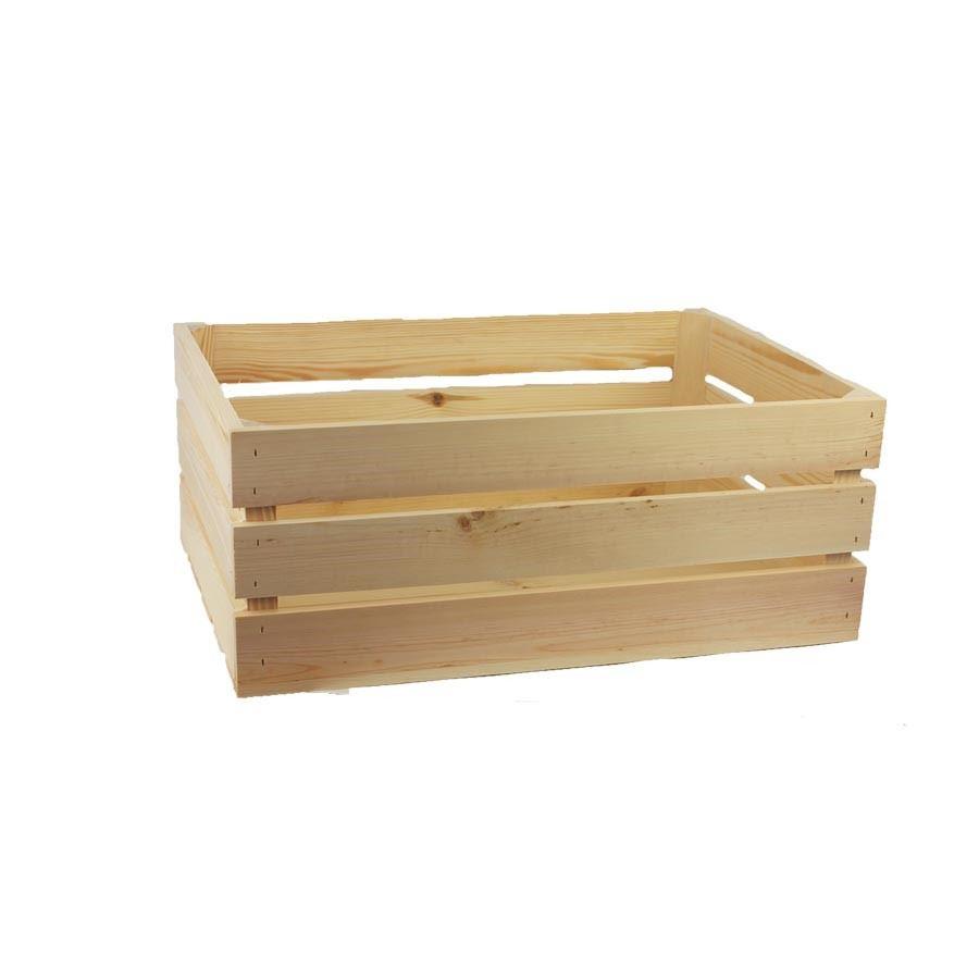 Dřevěná bedýnka 097084