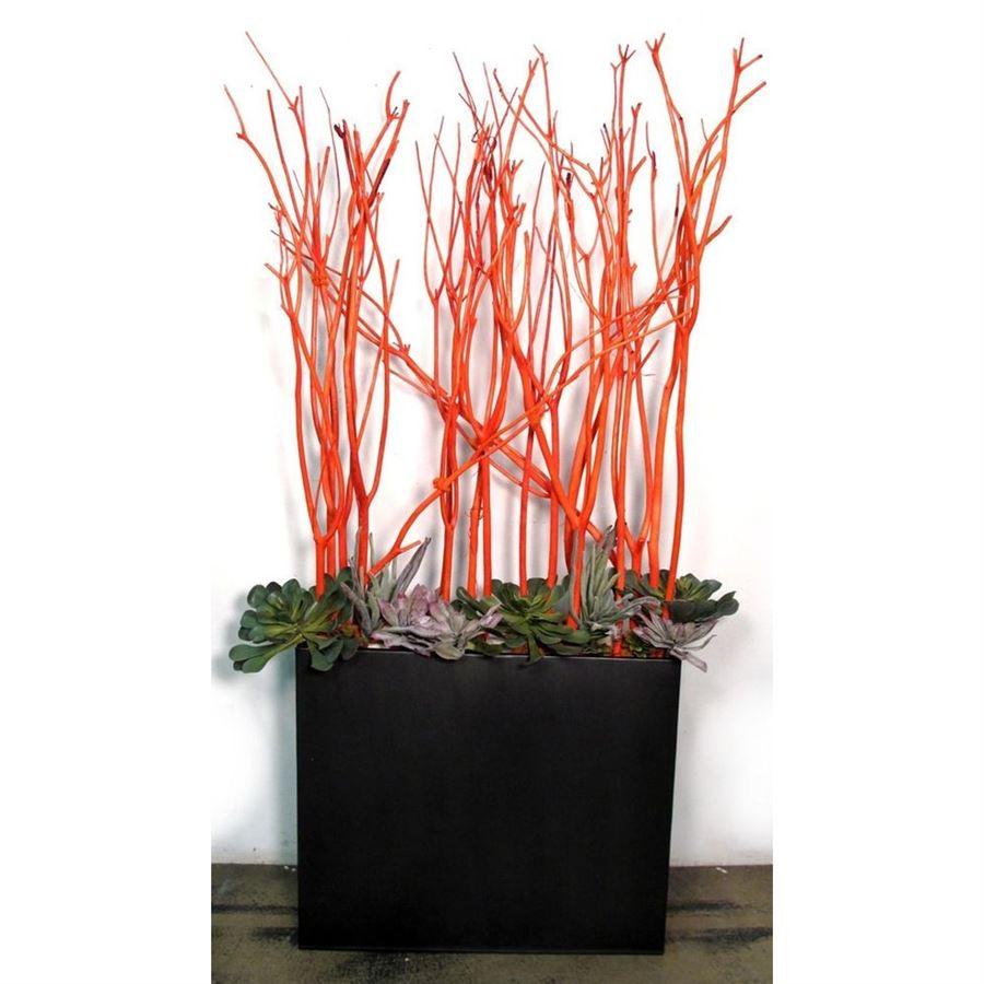 větve Mitsumata 3ks-sv. 140cm - oranžové 381988-04