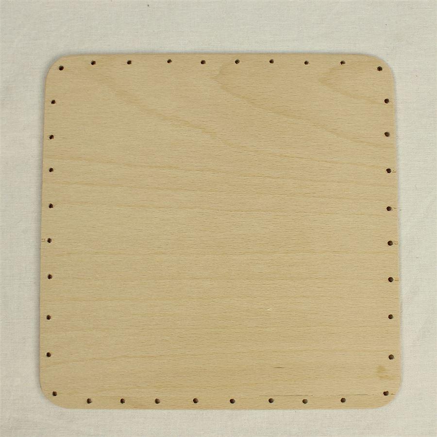 překližka tl.4 mm, čtverec 20x20 cm s otvory 22P2020C