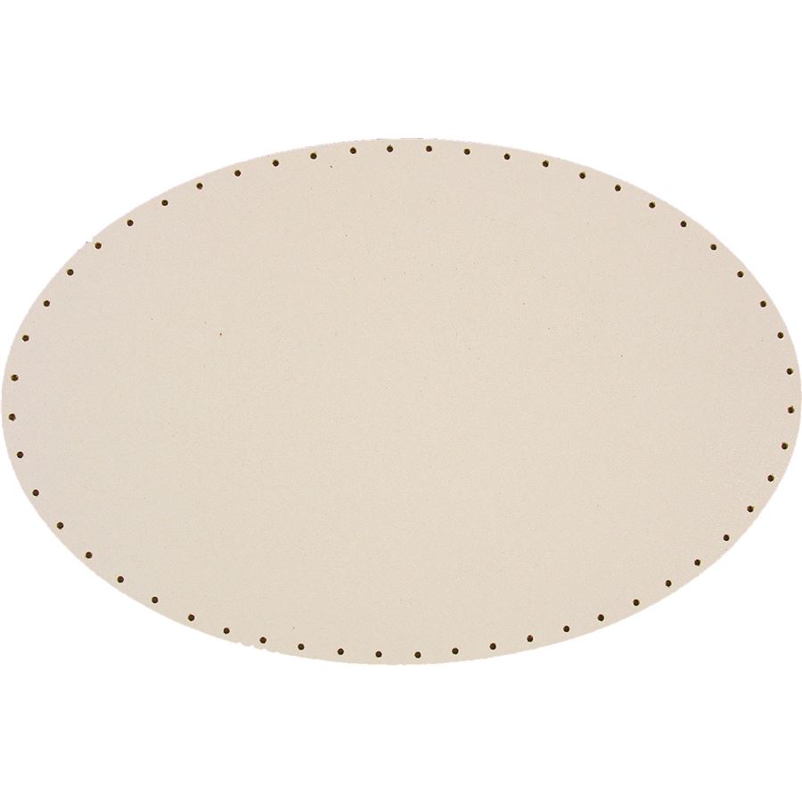 sololak bílý elipsa 33x16 cm s otvor 22B3316E