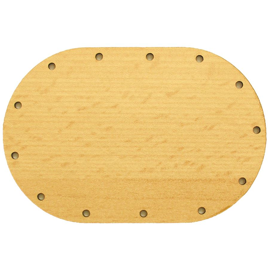 sololak buk ovál 12x8 cm s otvory 22U1208V