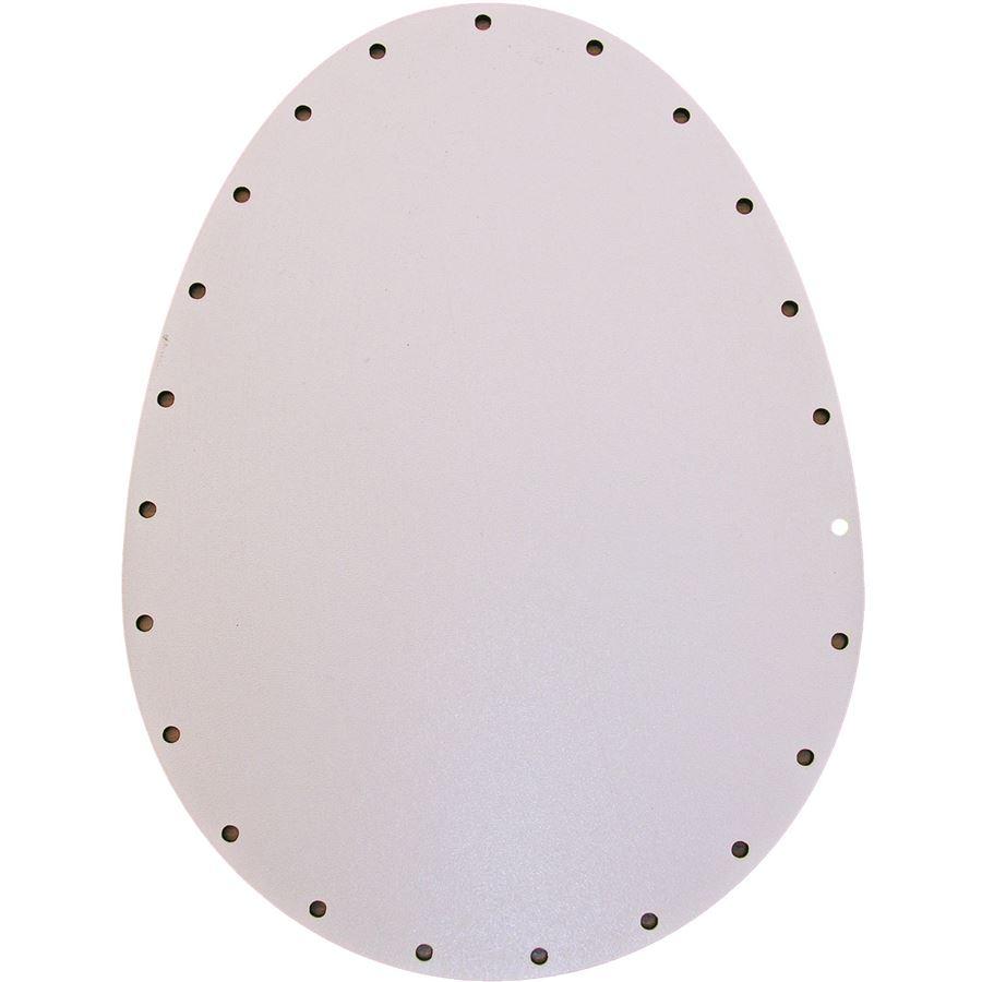 sololak bílý vejce 20x15cm s otvory 22B2015J