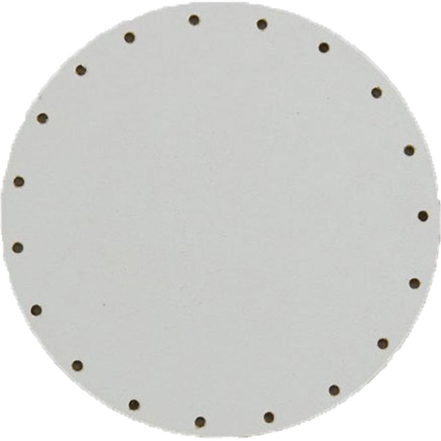 sololak bílý pr.12cm s otvory 22B0012K