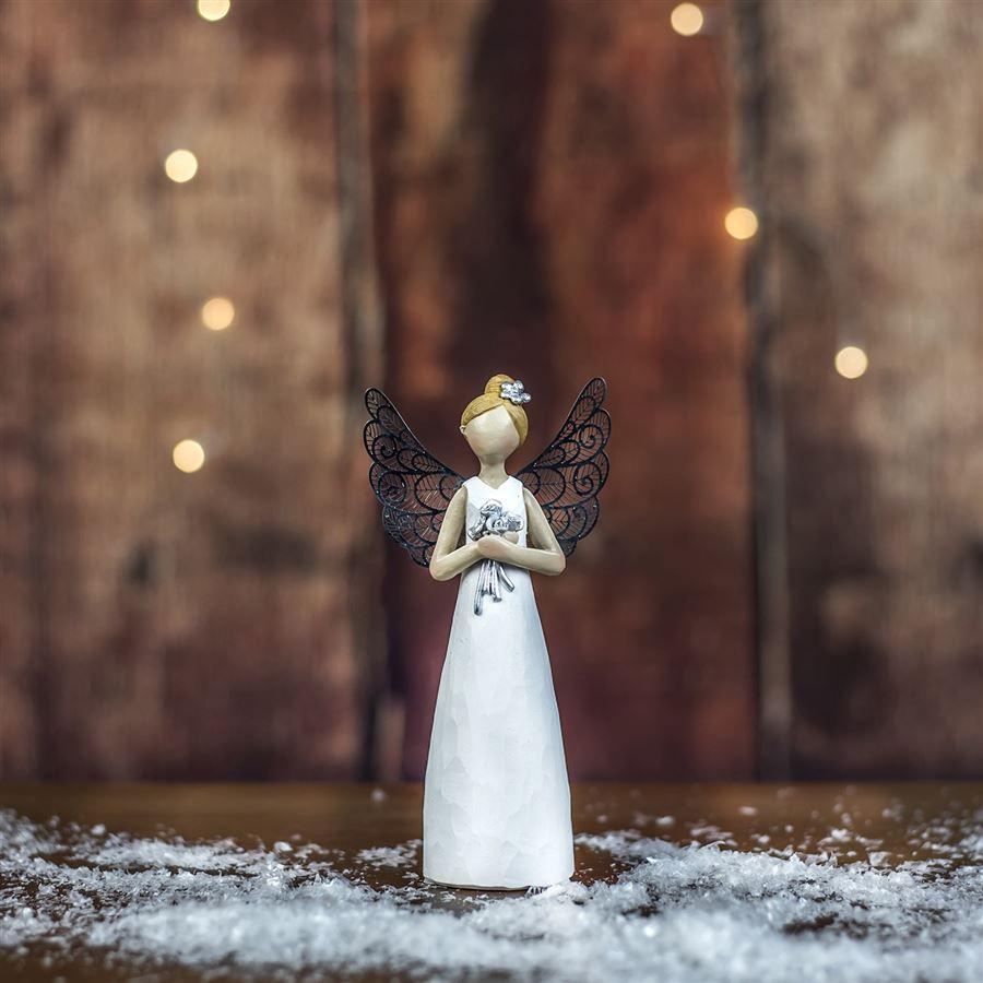 Anděl dekorační X2965